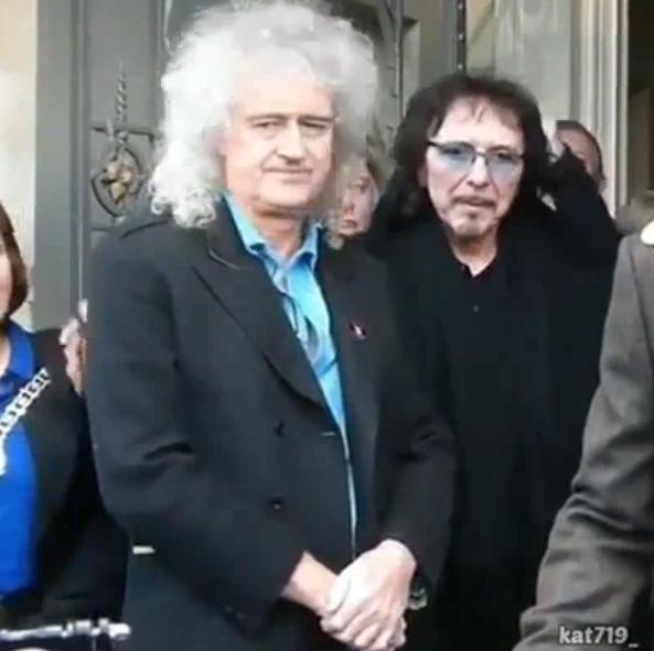 Brian May, Tony Iommi