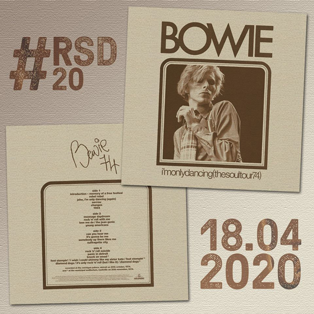 DAVID BOWIE / I'M ONLY DANCING (THE SOUL TOUR 74)