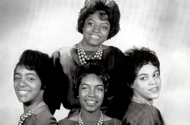 the first lineup of The Supremes circa 1961