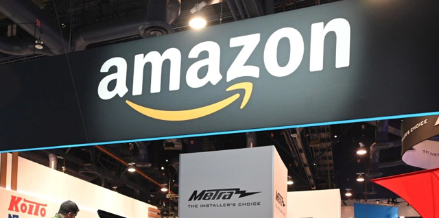 Amazon - ROBYN BECK/AFP via Getty Images