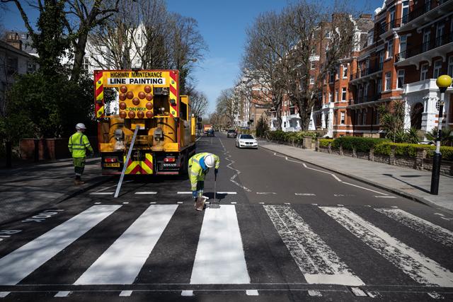 Abbey Road zebra crossing (c)GettyImages