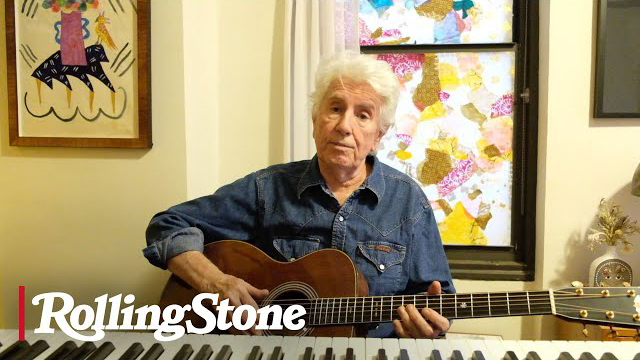 Graham Nash Performs CSNY Hit 'Our House' From Home in New York City   In My Room
