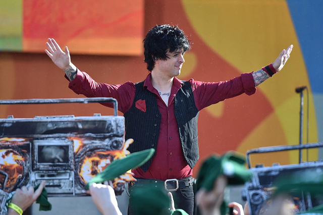 Billie Joe Armstrong - Photo by Theo Wargo, Getty Images