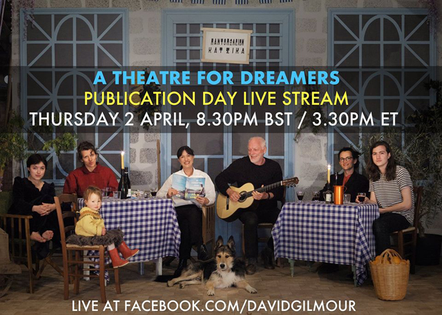 David Gilmour and his family - A Theatre For Dreamers Live Stream