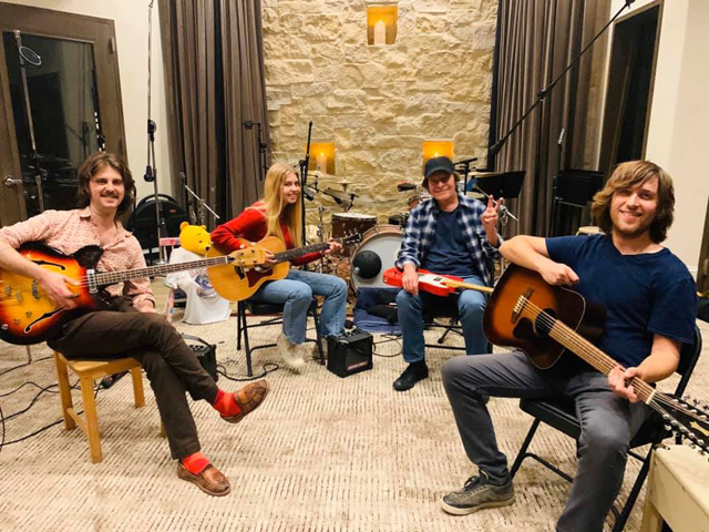 John Fogerty and his family