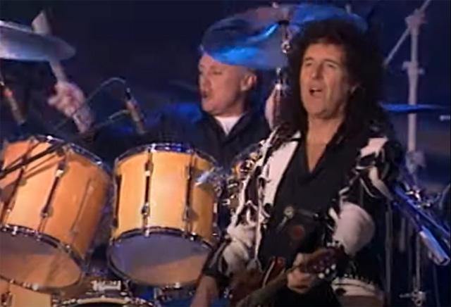 Queen perform