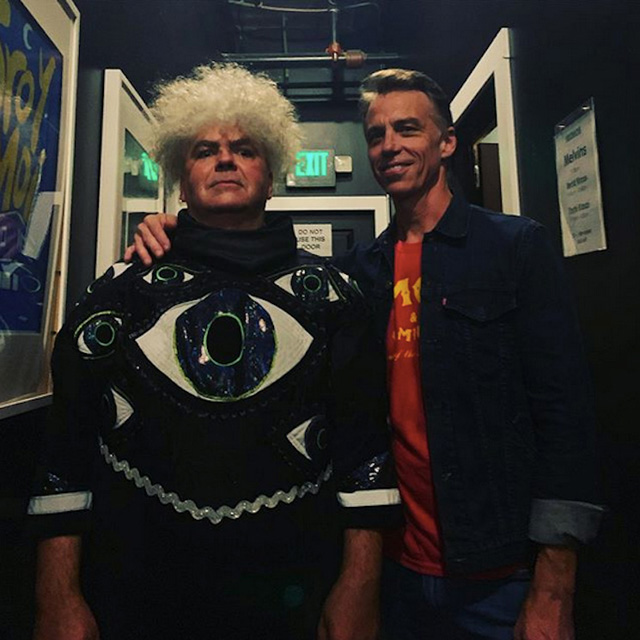 Matt Cameron and Buzz Osborne