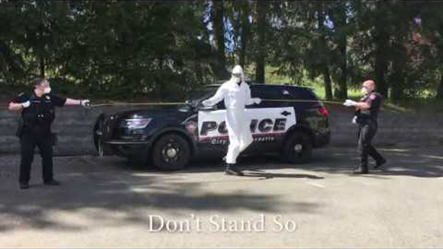 Don't Stand So Close To Me - A PSA From the Newcastle WA Police Department