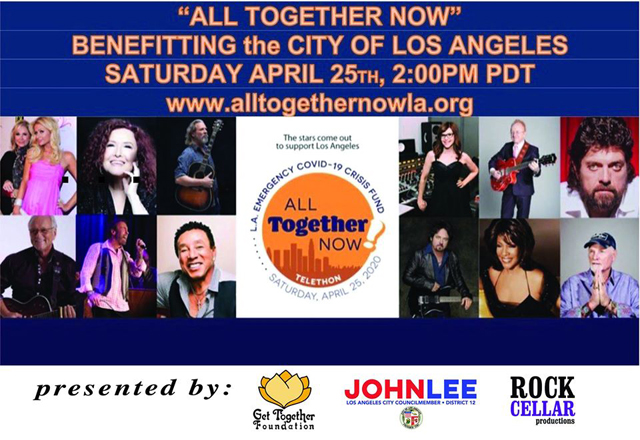 All Together Now Online Concert for COVID Relief