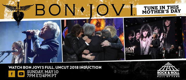 Bon Jovi - The Rock And Roll Hall Of Fame 2018