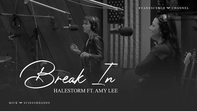 Lzzy Hale (Halestorm) Ft. Amy Lee (Evanescence) - Break In (Live)