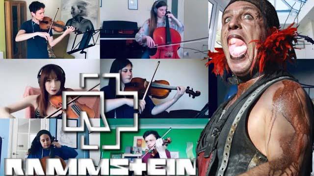 Liz Lister / Rammstein - Orchestra Medley [Top 13 Songs]