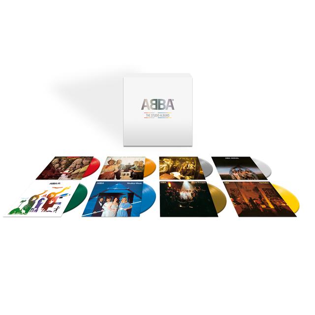 ABBA / ABBA: The Studio Albums [colored vinyl]