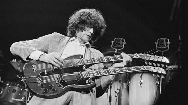 Jimmy Page (Image credit: Michael Putland/Getty Images)