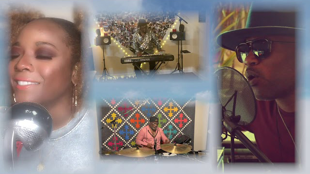 """Prince musicians unite to perform """"The Cross"""""""