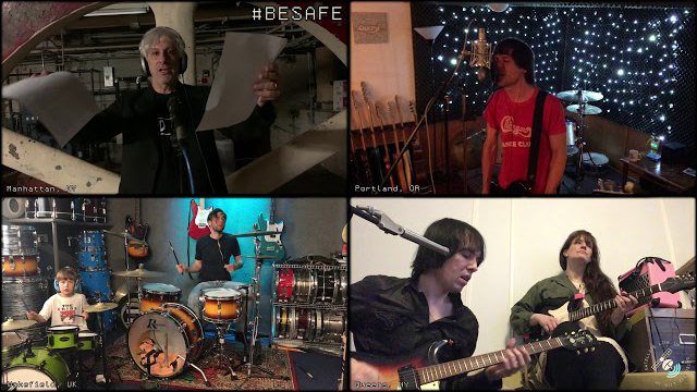 The Cribs feat. Lee Ranaldo - Be Safe (lockdown live session)