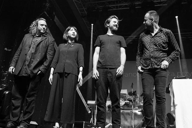 Tangerine Dream : Thorsten Quaeschning, Hoshiko Yamane, Paul Frick and Ulrich Schnauss - Photos by Melanie Reinisch