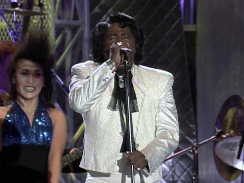 James Brown at the Concert for the Rock & Roll Hall of Fame in 1995.