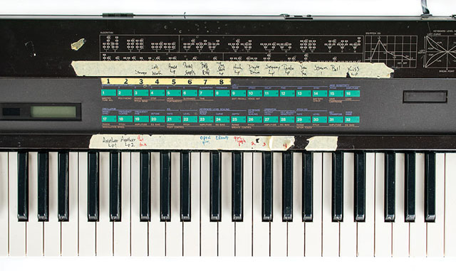 Prince's Purple Rain Tour and Studio-Used Yamaha DX7 Synthesizer