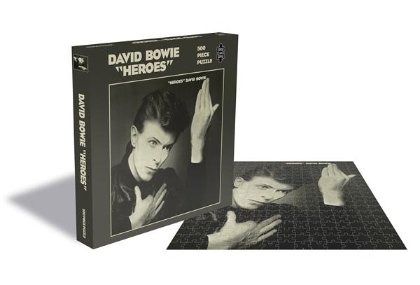 DAVID BOWIE / HEROES (500 PIECE JIGSAW PUZZLE)