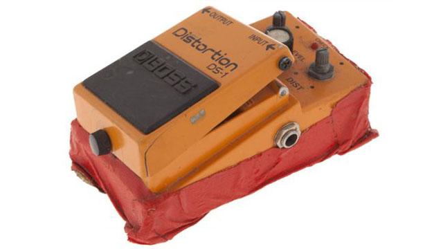Kurt Cobain's Boss DS-1 distortion pedal