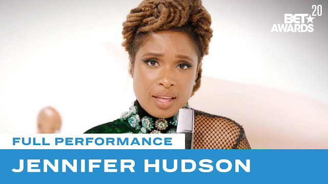 """Jennifer Hudson Performs """"Young, Gifted & Black"""" 