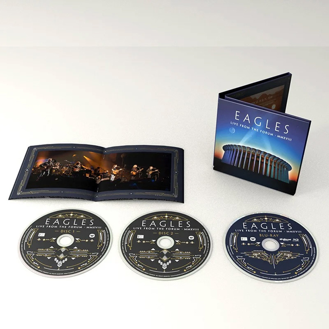 Eagles / Live From the Forum MMXVIII [2CD+Blu-ray]