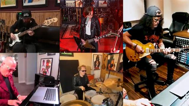 Lzzy Hale, Linda Perry, Slash, Gilby Clarke, Mike Garson, Rob