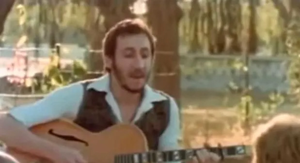 Pete Townshend performs 'Drowned', India, 1976