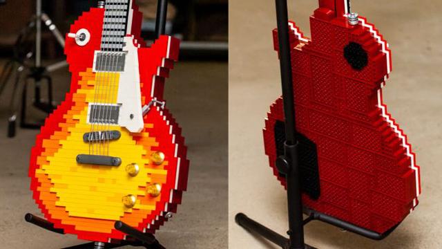 Lego Les Paul (Image credit: もりりん)