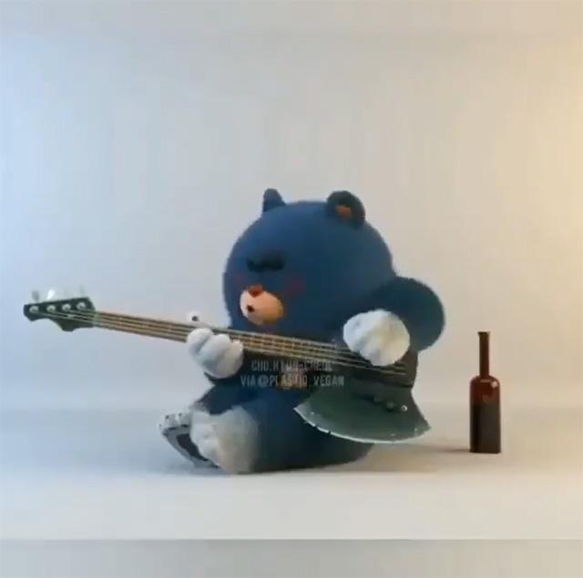 Drunk bassist