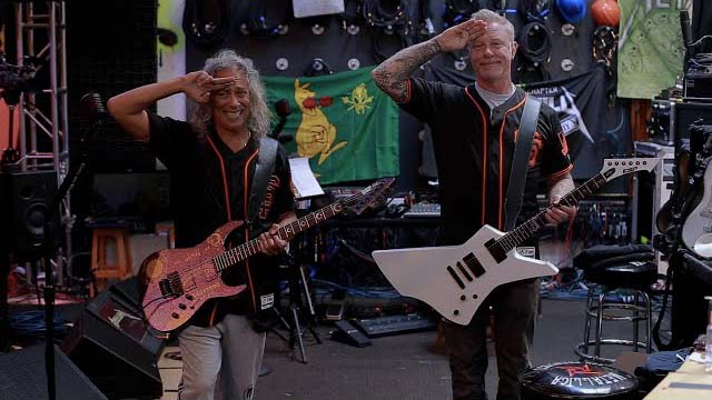 Metallica: The Star-Spangled Banner (SF Giants 2020)