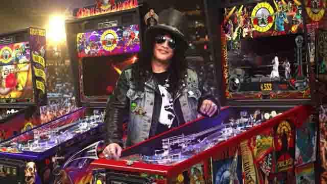 Slash & Guns N' Roses Pinball by Jersey Jack Pinball