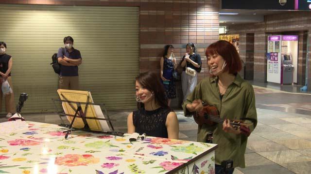 NHK『街角ピアノ「広島」』(c)NHK