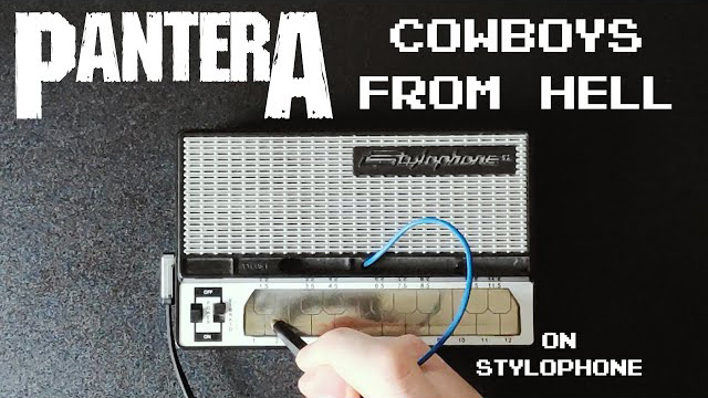 Pantera - Cowboys From Hell (Stylophone Cover)
