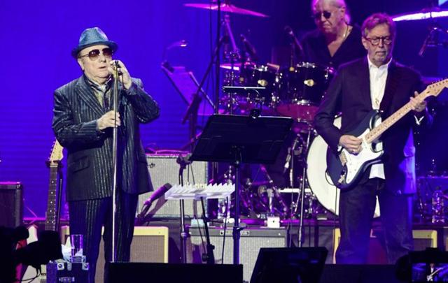 Eric Clapton and Van Morrison