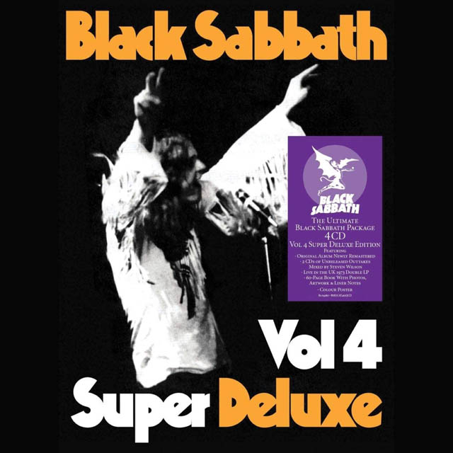 Black Sabbath / Vol 4: Super Deluxe Box Set