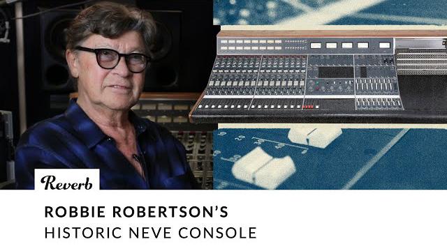 Robbie Robertson's Historic Neve Console