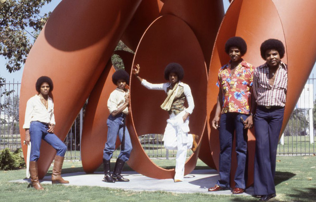 The Jacksons - Photo by Gregg Cobarr / Courtesy Sony Music
