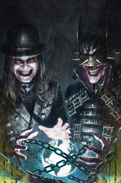 Dark Nights: Death Metal - Band Edition - Ozzy Osbourne cover by Marco Mastrazzo