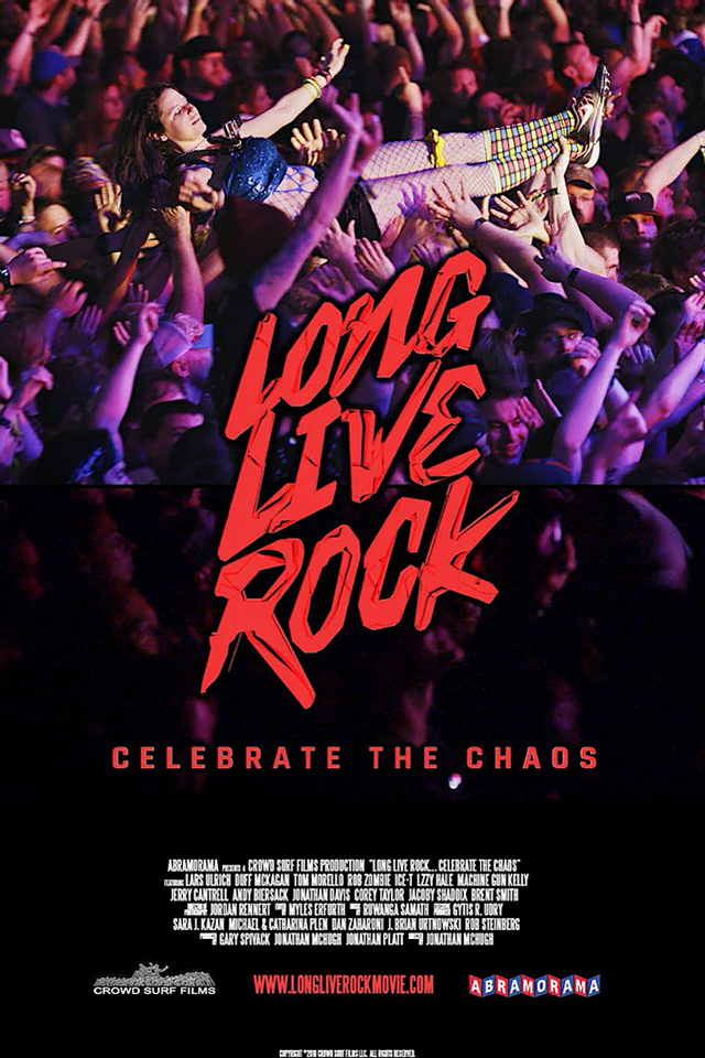 Long Live Rock … Celebrate the Chaos