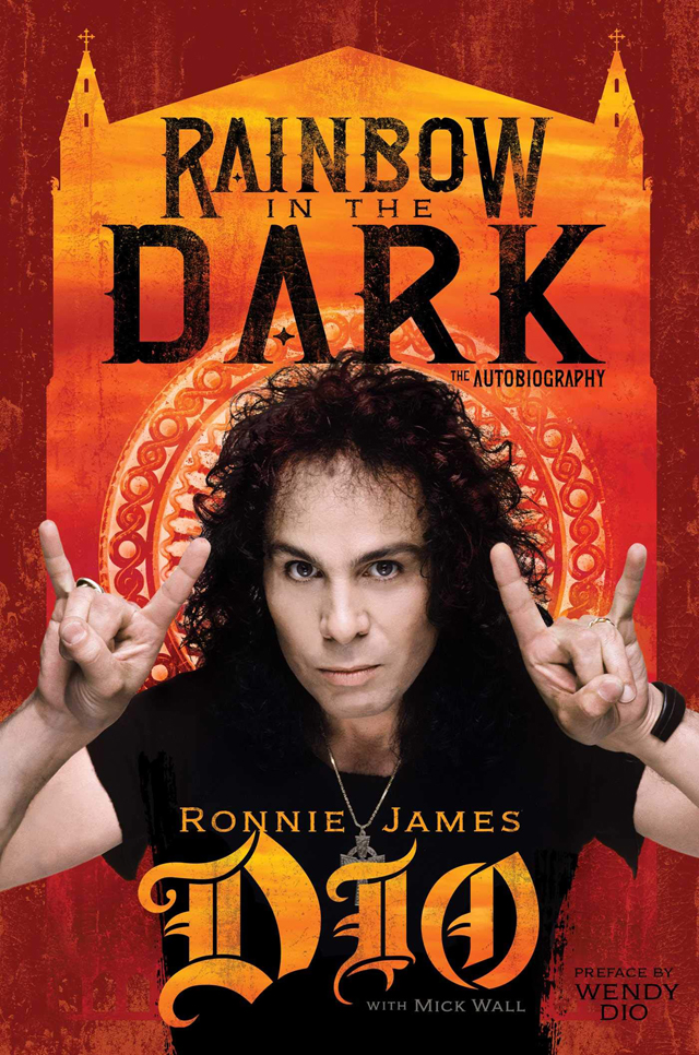 Ronnie James Dio / Rainbow in the Dark: The Autobiography Hardcover