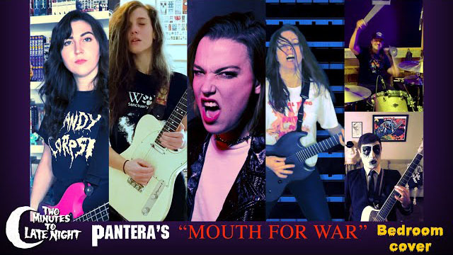 """Two Minutes To Late Night - Halestorm + Code Orange + Baroness Cover Pantera's """"Mouth for War"""""""