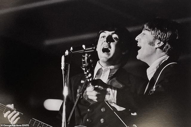 The Beatles at Busch Stadium in 1966
