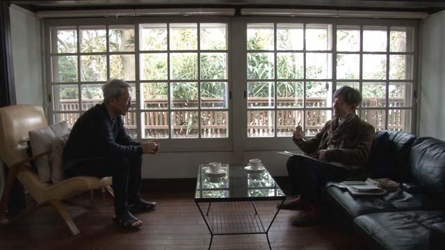 NHK『SWITCHインタビュー 達人達「佐野元春×吉増剛造」』(c)NHK