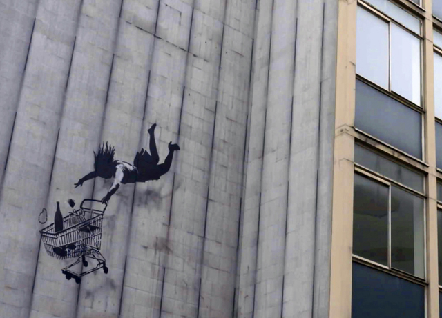 NHK『BS世界のドキュメンタリー▽指名手配:バンクシー正体不明のアーティストを追え』(C)CANAL + / CROSS BORDERS FILMS / SCARLETT PRODUCTION / 2020
