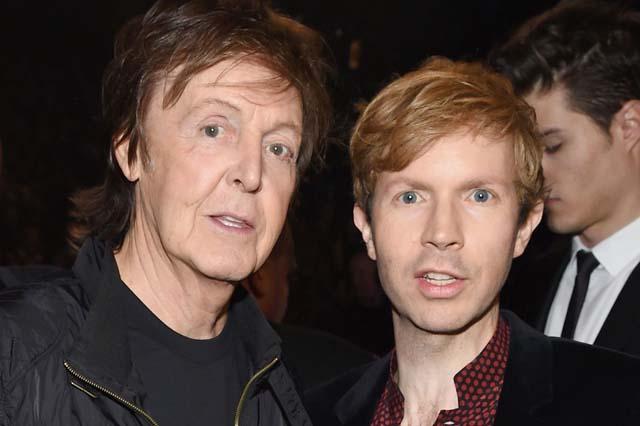Paul McCartney and Beck
