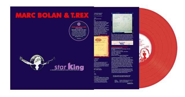Marc Bolan & T. Rex - Star King (180g Coloured vinyl)