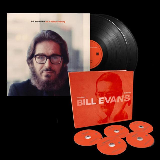 Bill Evans / Everybody Still Digs Bill Evans & On A Friday Evening (5-CD BOX SET + 2-LP)