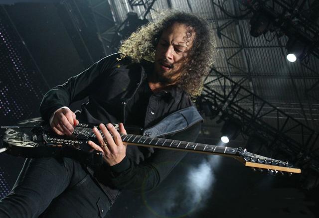 Kirk Hammett's ESP Ouija Guitar